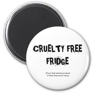 CRUELTY FREE FRIDGE REFRIGERATOR MAGNETS
