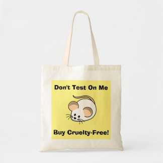 """""""Cruelty-Free Mouse"""" Tote Bag"""