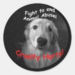 Cruelty Hurts Sticker