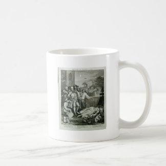 Cruelty in perfection by William Hogarth Coffee Mug