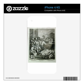 Cruelty in perfection by William Hogarth Skins For The iPhone 4