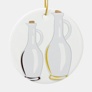 Cruet Bottles Ceramic Ornament