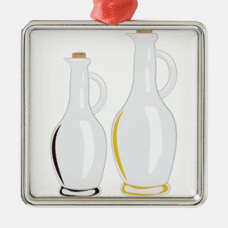 Cruet Bottles Metal Ornament
