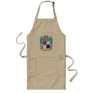 Crufts Coat of Arms - Family Crest Long Apron
