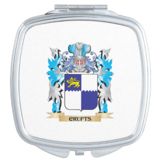 Crufts Coat of Arms - Family Crest Vanity Mirrors