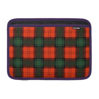 Cruickshank clan Plaid Scottish kilt tartan Sleeve For MacBook Air