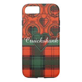 Cruickshank clan Plaid Scottish kilt tartan iPhone 8/7 Case
