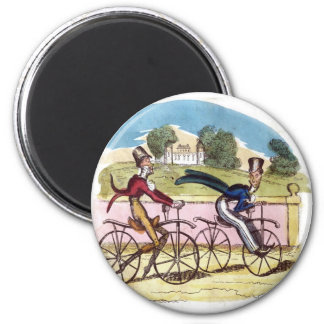 Cruikshank Vintage Old Fashion Bicycle Cyclists Magnets