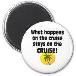 Cruise 2 Inch Round Magnet