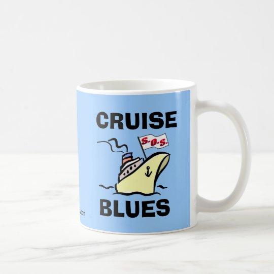 Cruise Blues - Carnival Splendor Coffee Mug