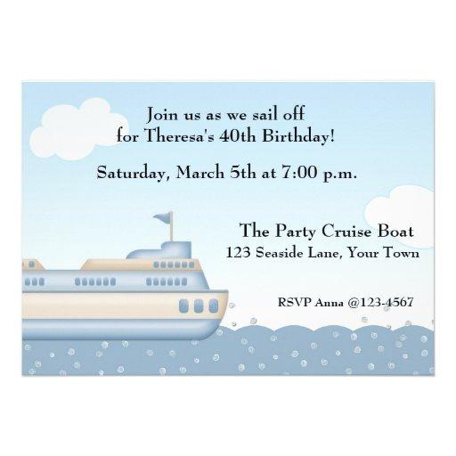 Cruise Invitation Template Business Template Ideas