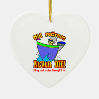 Cruise Ceramic Ornament