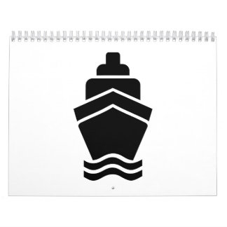Cruise container ship calendar