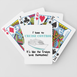 Cruise Control Bicycle Playing Cards