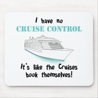Cruise Control Mouse Pad