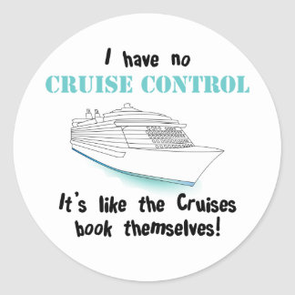 Cruise Control Stickers