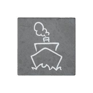 Cruise Forwards Pictogram Stone Magnet