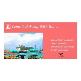 Cruise Invitation Card