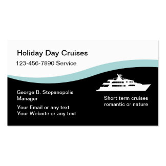 Cruise Line Travel Business Cards