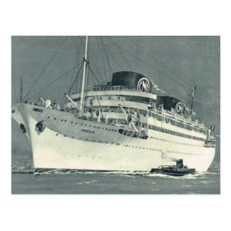 Cruise liner Chelle 1 Postcard