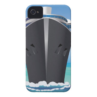 Cruise Liner in the Sea2 Case-Mate iPhone 4 Case