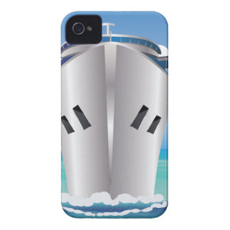 Cruise Liner in the Sea Case-Mate iPhone 4 Cases