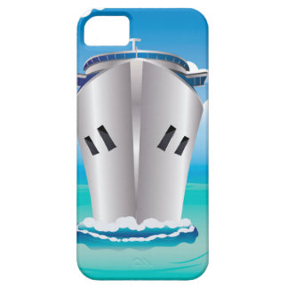 Cruise Liner in the Sea iPhone SE/5/5s Case