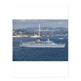 Cruise Liner Ocean Monarch Postcard