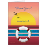 Cruise - Maitre D' - Thank you Tipping Greeting Card