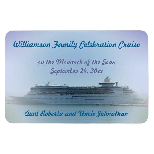 Cruise Memories Custom Door Marker Rectangular Photo Magnet