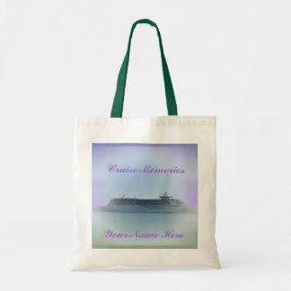 Cruise Memories Customizable Budget Tote Bag