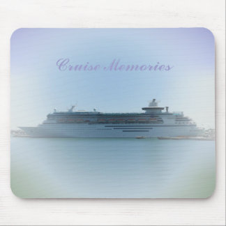 Cruise Memories Mouse Pad
