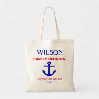 Cruise/Nautical Reunion (or Event) Tote Bag