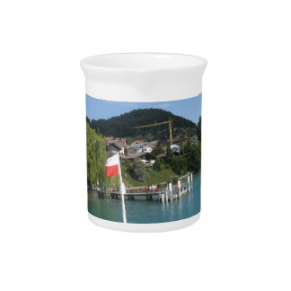 Cruise on Lake Thun in Switzerland Drink Pitchers