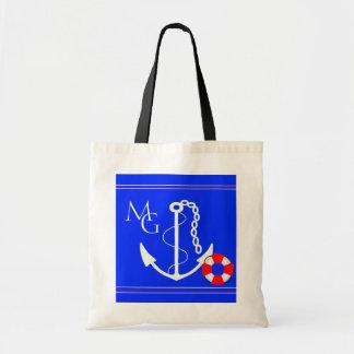 Cruise or Beach Bag-Monogram