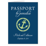 Cruise Passport Wedding Invitation