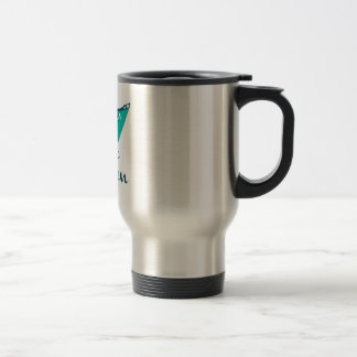 Cruise Queen 15 Oz Stainless Steel Travel Mug
