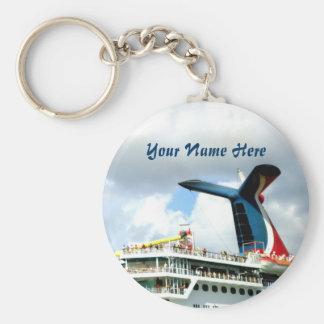 Cruise Revelers Custom Basic Round Button Keychain