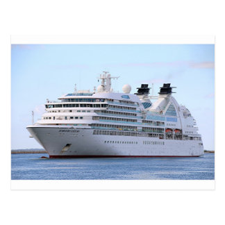 Cruise ship 12 post cards