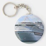Cruise ship 13 key chain