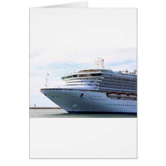 Cruise ship 15 greeting cards