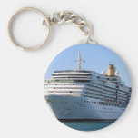 Cruise ship 16 keychain
