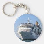 Cruise ship 17 keychain