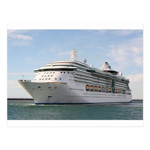 Cruise ship 5 post cards