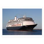 Cruise ship 7 post card