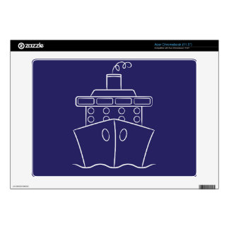 Cruise ship acer chromebook decals