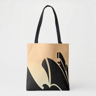 Cruise Ship All-Over-Print Tote Bag, Medium