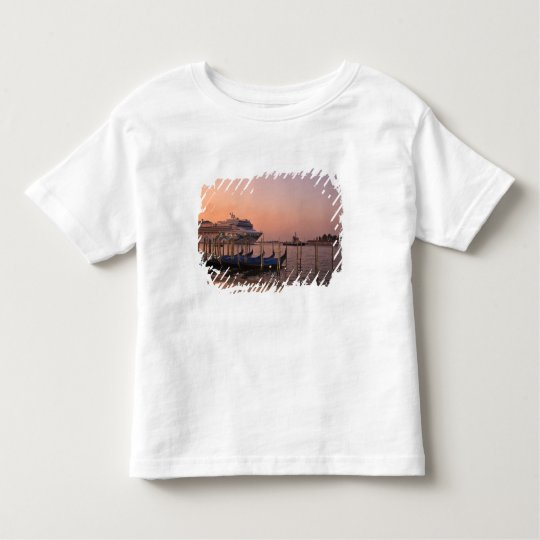 Cruise Ship and Gondolas near Grand Canal, Italy Toddler T-shirt