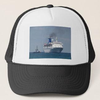 Cruise Ship Aquamarine Trucker Hat