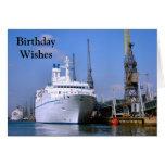 "Cruise ship ""Astoria"", Customizable card"
